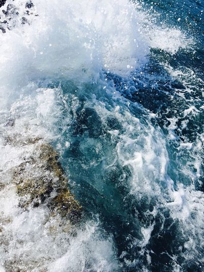 Ognina-Siracusa Power In Nature EyeEm Nature Lover Blue Beauty In Nature Water Sea Rock - Object Wave 🌊 No People Ogninaforever😍 Perspectives On Nature Perspectives On Nature