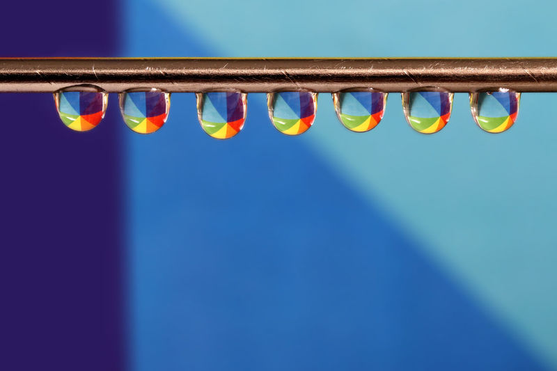 Water Drops On Needle