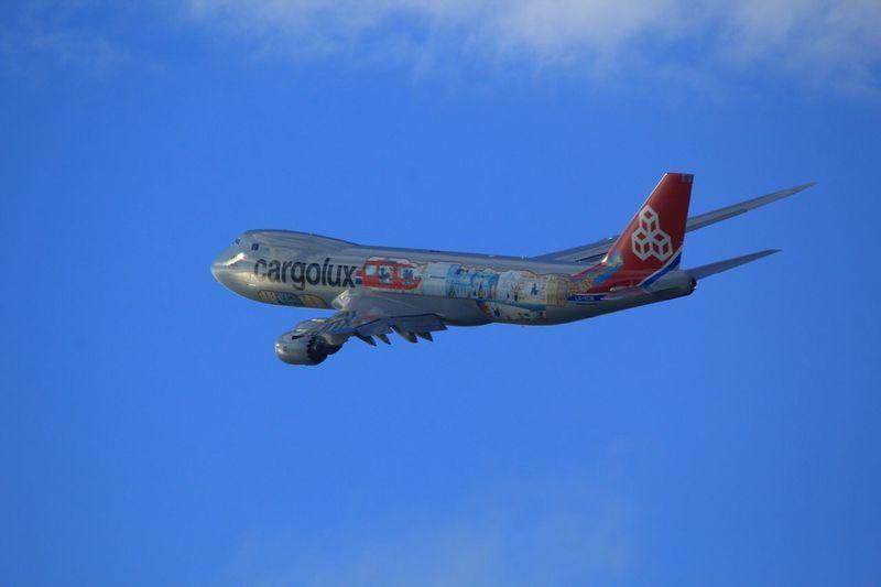 LX-VCM Blue Sky Komatsu Airport Komatsu Airplane Cargolux Cargo LX-VCM