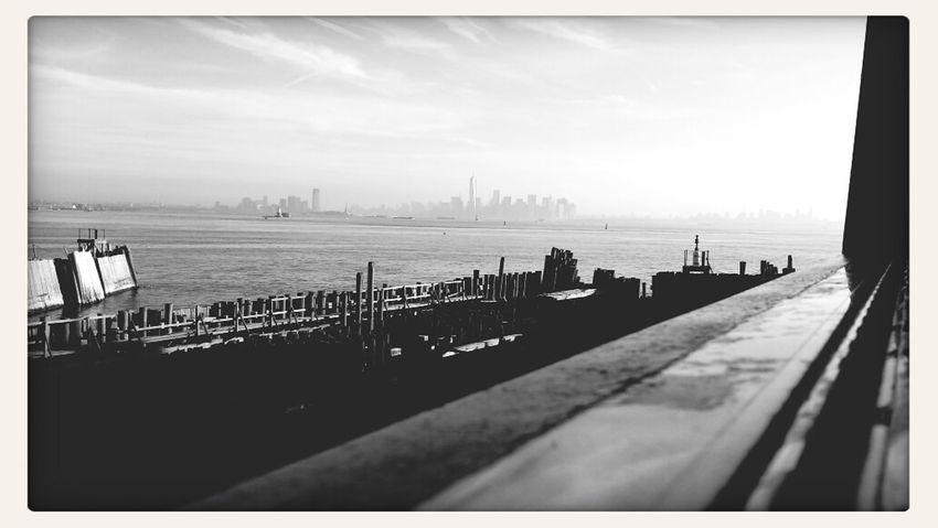 BnW Staten Island Ferry My Commute NYC