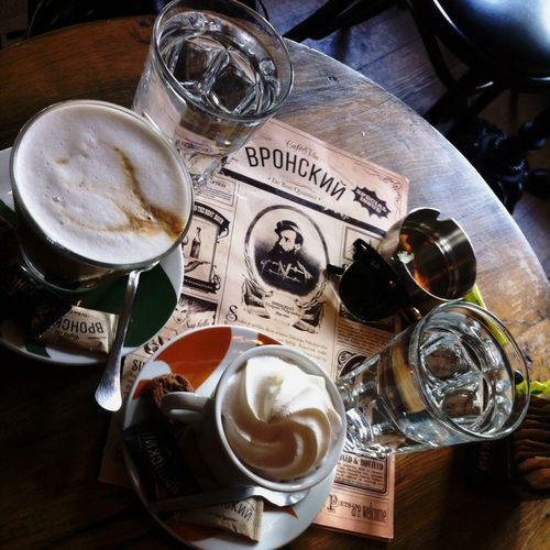 Coffee time Drinks Meeting Taking Photos Coffee Vronsky Hanging Out Old Fashioned Spring Friends