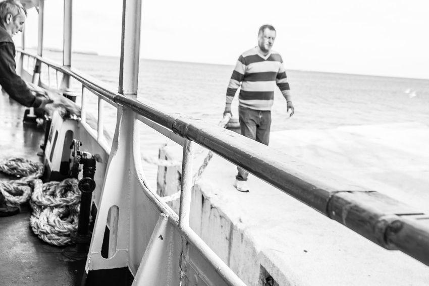 Blackandwhite Photography Croatia Horizon Over Water Mali Lošinj My Commute My Commute-2016 EyeEm Photography Awards Sea Sky Susak Water