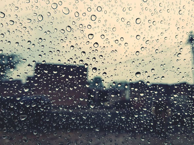 #Rainyday #rainyday Drop Backgrounds Wet Full Frame Water No People Abstract Frosted Glass First Eyeem Photo