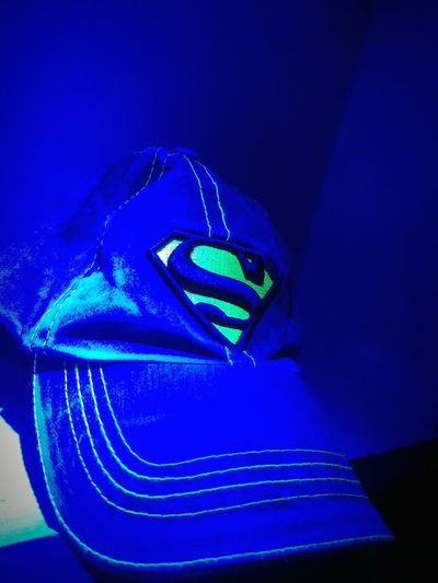 Blue SuperMan ❤ Day Cap Love To Take Photos ❤ Baddy Classic Neon Color Supermanlogo Supermann Cap