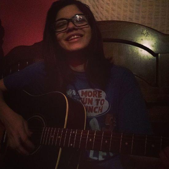 She's adorable<3 :* Gianna Guitar Amazing Iloveher
