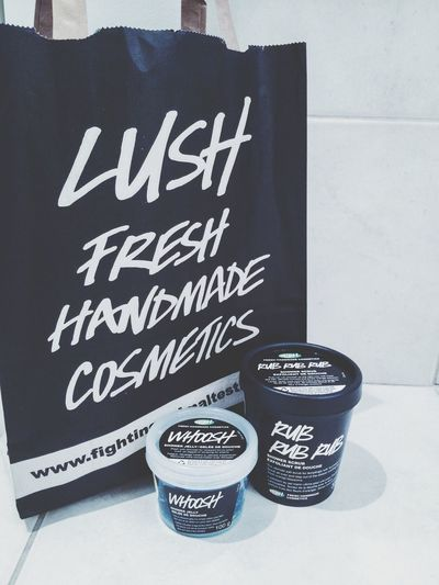 New soap!! I feel great!! Lush Cosmetics Lush Soap