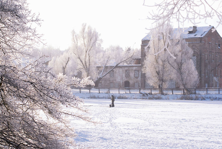 Minsk, Loshica Park Frozen Snow ❄ Winter Architecture Beauty In Nature Cold Temperature Day Landscape Nature Outdoors