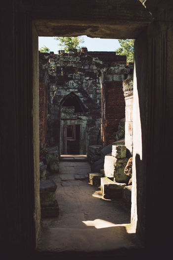Siem Reap Cambodia Angkor Architecture Built Structure History The Past Building Indoors  Day No People Abandoned Old Sunlight Ancient Nature Arch Damaged Old Ruin Architectural Column Run-down Ancient Civilization Deterioration Ruined Archaeology