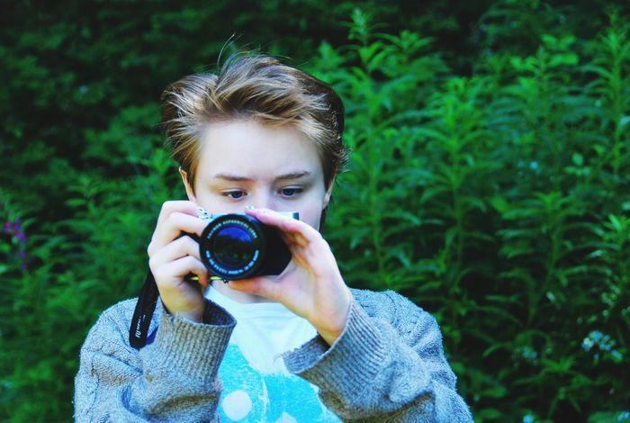 Cramond Edinburgh Scotland Portrait Camera - Photographic Equipment Real People Photographer