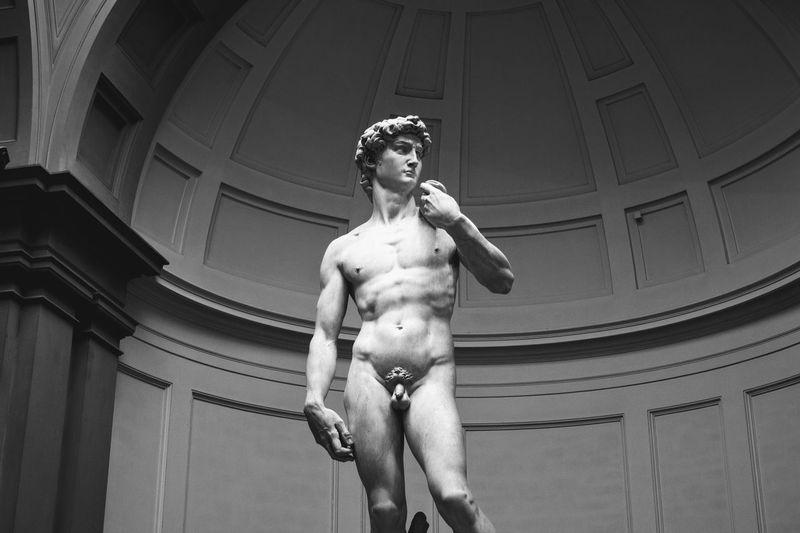 Statue of david italy