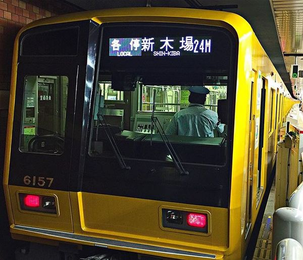 ついに黄色い6000系電車を見つけた 火曜日のトレインスポッティング