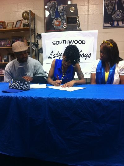 at my sister signing the other day I'm so proud of her
