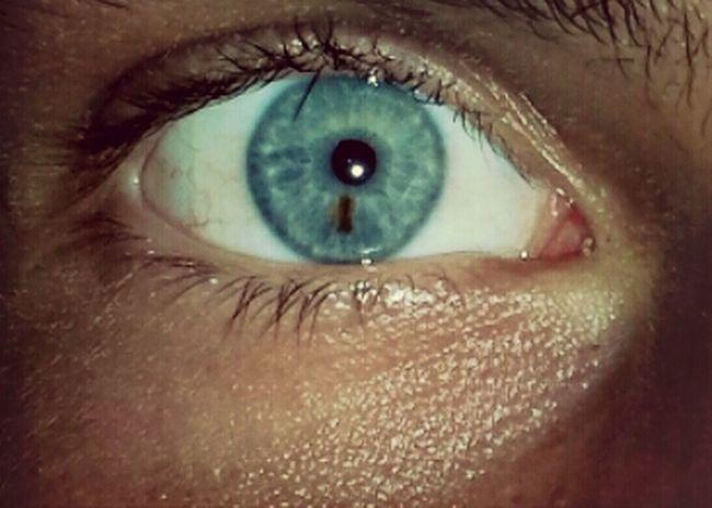 Open Your Eyes For Amnesty International my bleu eye