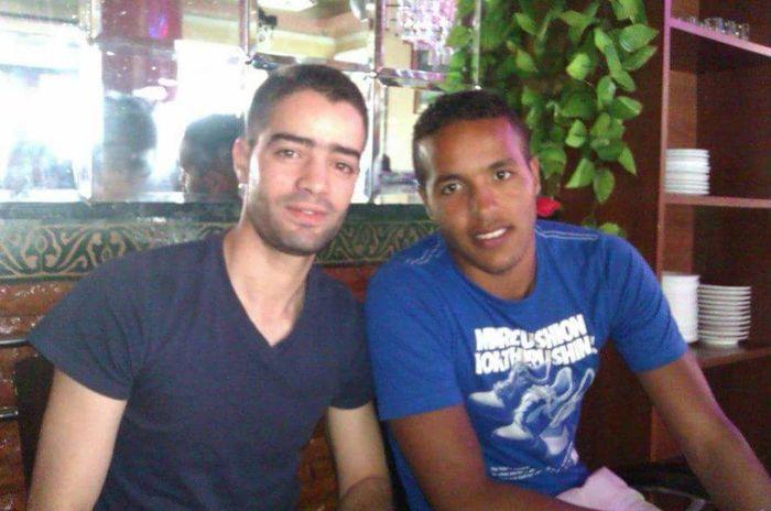 with Yousef💗 Youssef Elarabi Granada, Spain Player Football Azemour Morocco