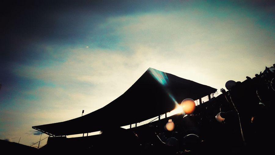 Estadio Nacional de Tegucigalpa Arts Culture And Entertainment Sky People Illuminated First Eyeem Photo