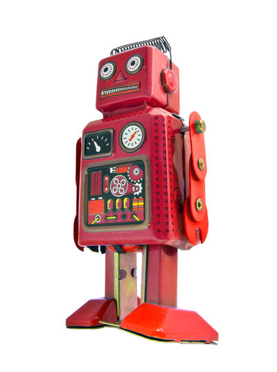 little red robot say what ? What What ? Close-up Confused Cut Out Exrpeshion Lookingup No People Old Perplexed Red Retro Styled Robot Robot Roy Robot Toy Single Object Standing Alone Still Life Studio Shot Toy White Background