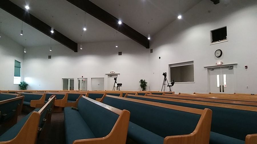 Church Architecture EyeEm Selects Indoors  Chair No People Preparation  Architecture Auditorium Day