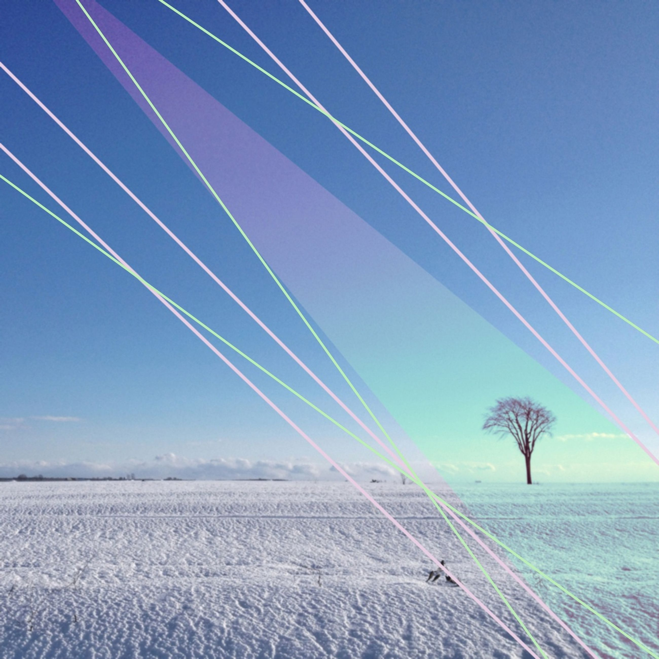 landscape, transportation, clear sky, connection, blue, sky, tranquility, tranquil scene, vapor trail, scenics, cable, field, beauty in nature, nature, power line, outdoors, low angle view, day, no people, road