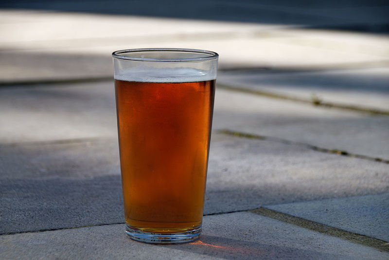 Beer Beverage Pint Of Lager Alcohol Alcoholic Drink Beer Close-up Cold Temperature Day Drink Drinking Glass Focus On Foreground Food And Drink Freshness Lager No People Outdoors Pint Glass Pint Of Beer Refreshment Sky Table