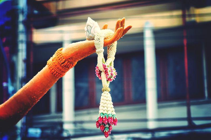 Fine Art Photography Exhibit Art Architecture Candle Festival Candle ArtWork Art Pray Buddhist Lent Day Handmade Exhibition Jasmine Flower Arm Jasmine Garland