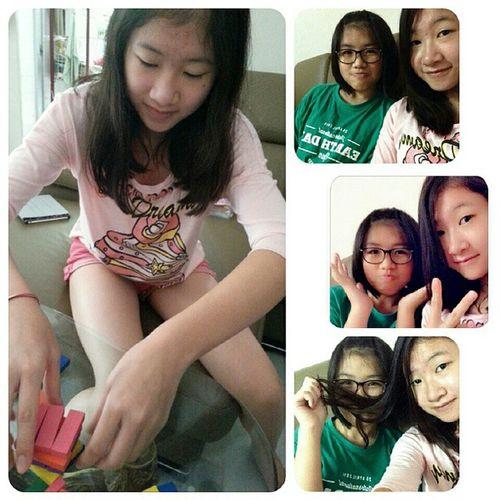 Saturday with her~~~~ Hellosaturday HappySaturday 01112014