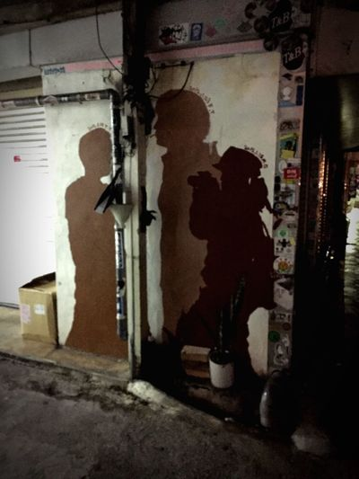Built Structure Painting Architecture No People Midnight Streetphotography Snap Snapshot Snapshots Of Life Photogenic  Alley Street Okinawa 那覇 IPhoneography The Week On EyeEm EyeEmNewHere 세계 Walkingaround Summer 沖縄 浮島通り Oldtown Nightphotography Nightwalk Adventures In The City