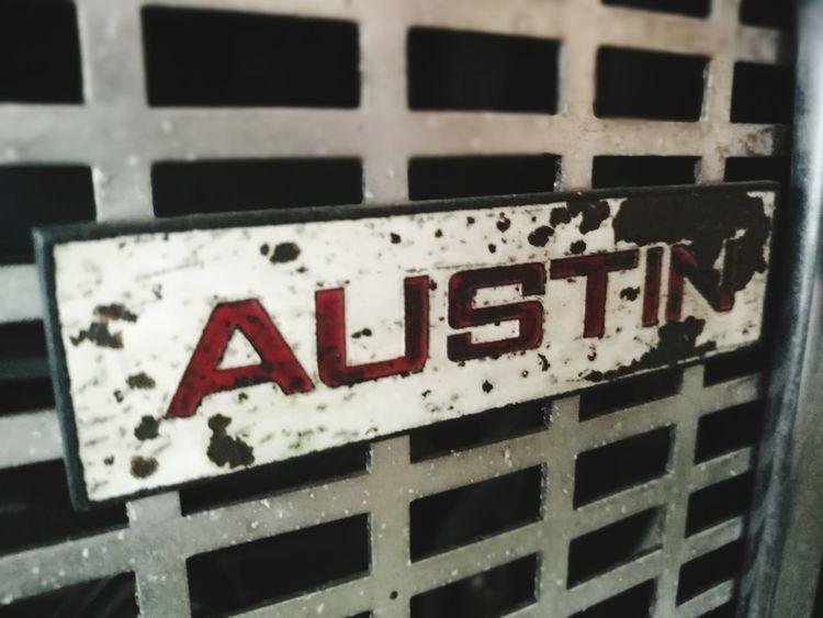 CAR LOGO 23 Text Communication Window No People Close-up Day Outdoors Car Logos Car Logo Love To Take Photos ❤ Austin