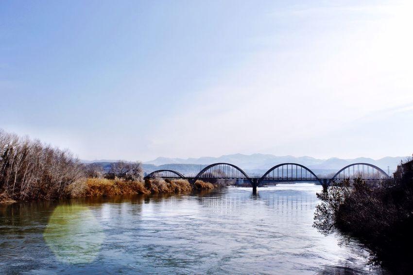 Puentes que unen Bridge Architecture River Riu Ebre Water_collection Landscape Water