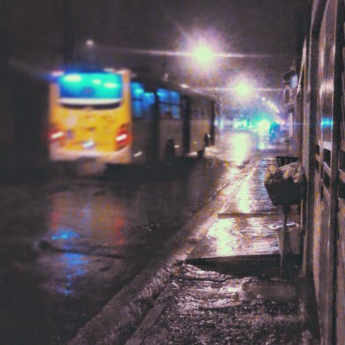 Wet Night Illuminated No People Water Indoors  City