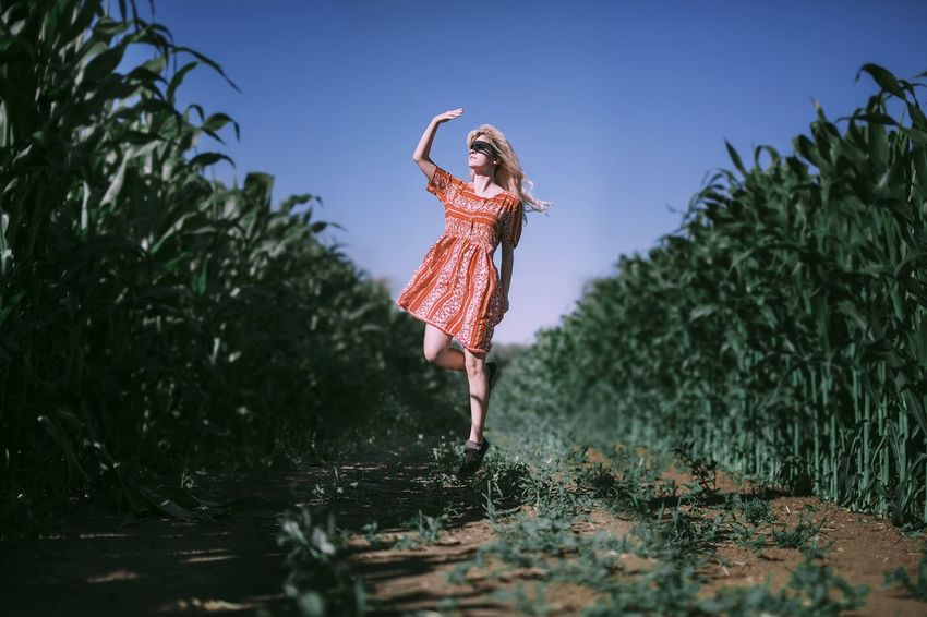 Daughter of the Fields Capture The Moment