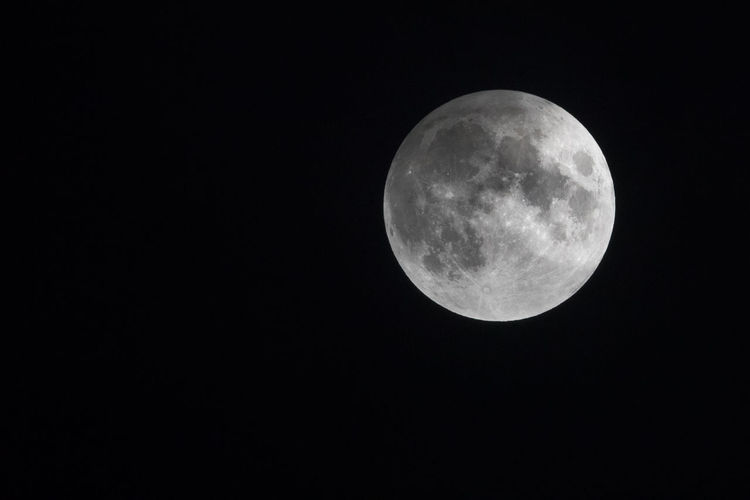 Astronomy Beauty In Nature Beauty In Nature Black Background Close-up Cold Copy Space Darkness And Light February Full Moon Lunar Eclipse Man In The Moon Moon Moon Surface Nature Night Nightphotography No People Outdoors Penumbral Lunar Eclipse Planetary Moon Snow Moon Space