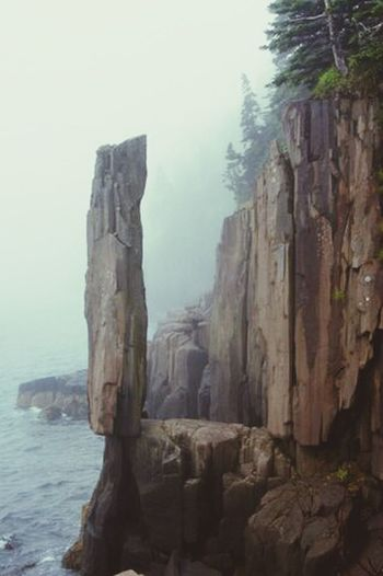 Check This Out Balancing Rocks Hiking Adventures Foggy Day