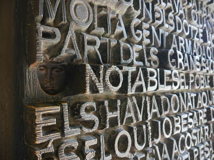 Miles Away carvings on the door of Sagrada Familia in Spain EyeEmNewHere Art Is Everywhere Break The Mold BYOPaper! EyeEm Selects Budget Traveller diy itinerary Sagrada Familia Europe Trip Your Ticket To Europe Stories From The City
