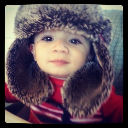 Little man said he's ready for cold weather Mylittleman  MYheart LoveHimToDeath Winteriscoming
