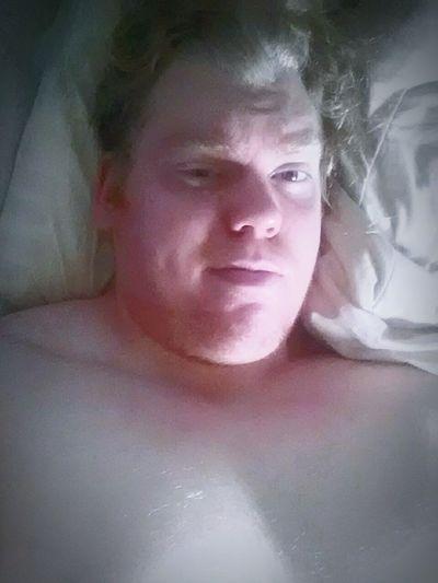 Just getting out of bed... Blonde Metalboy Metalhead Viking Guyswithlonghair Asatru Norse Nordic Powerlifter Blue Eyes