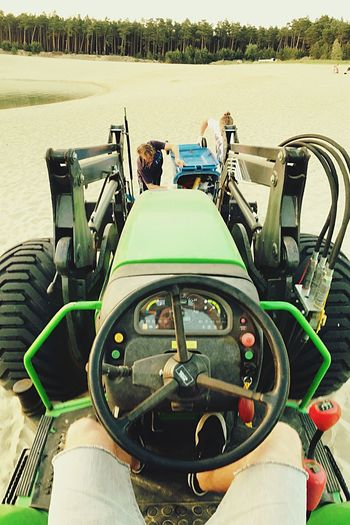 Big Toy Tractor
