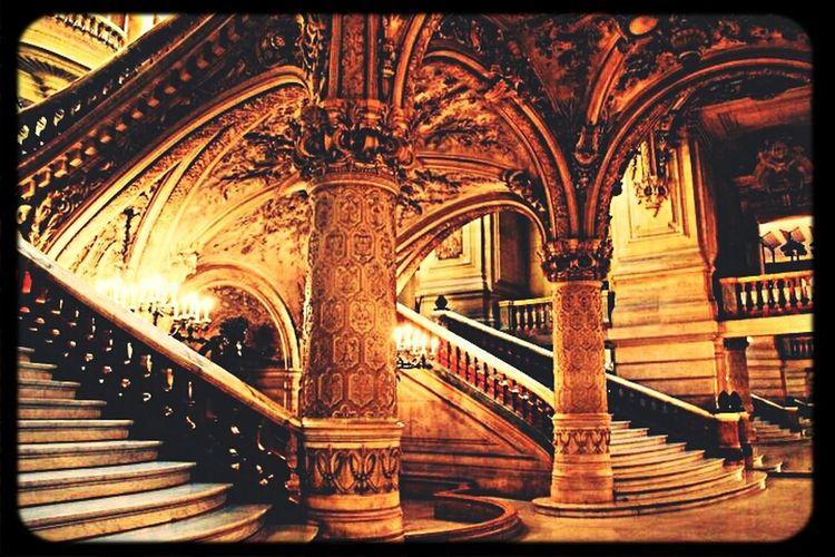 inside Palais Garnier Architecture Old Buildings Interior Design