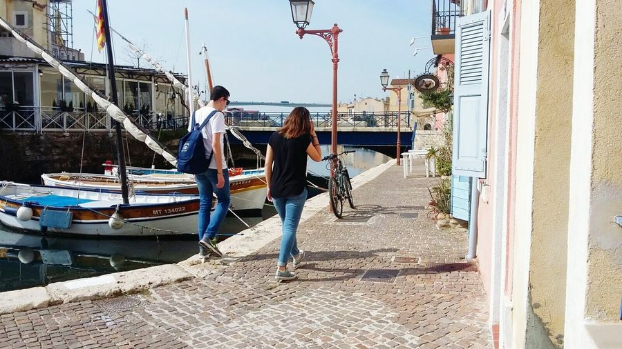 Martigues Nautical Vessel Water Lovely Place Peaceful View Trip Retro Bike Old Houses Young People EyeEmNewHere