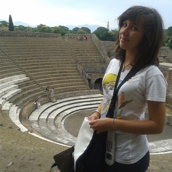 A Napoli Nel Teatro ! Pompei! borsa lola instagram!