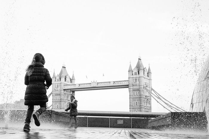 Towerbridge London Londonstreets Southbank Street Photography FUJIFILM X-T1 Black And White Travel City Of London OpenEdit Seeing The Sights Photographic Memory Up Close Street Photography The Street Photographer - 2016 EyeEm Awards London Lifestyle
