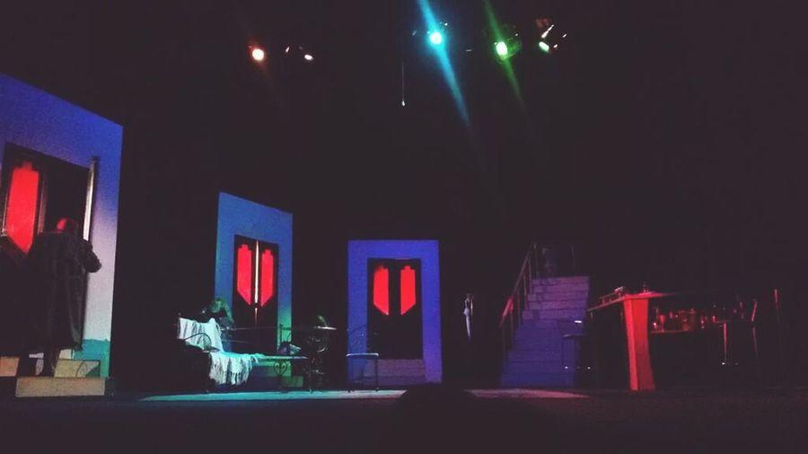 Stage Vinnitsa Theatre Doors Marc Camoletti