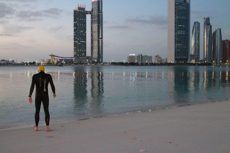 Abudhabi AbuDhabiTriathlon #Triathlon Swim