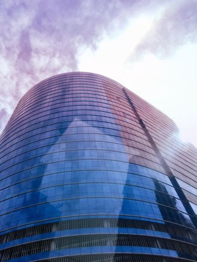 Bangkok Thailand Architecture Modern Built Structure Low Angle View Skyscraper Building Exterior Sky Reflection Day Outdoors No People City Tall Corporate Business Futuristic
