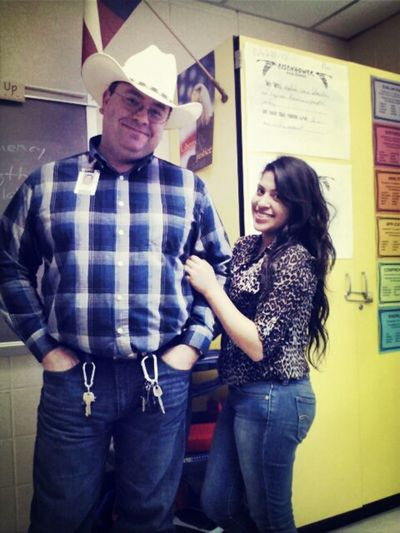Mr. Shelton & I