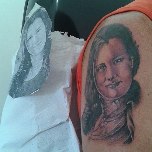 Tattoo Arte... depois de 4 horinhas... Satisfeito