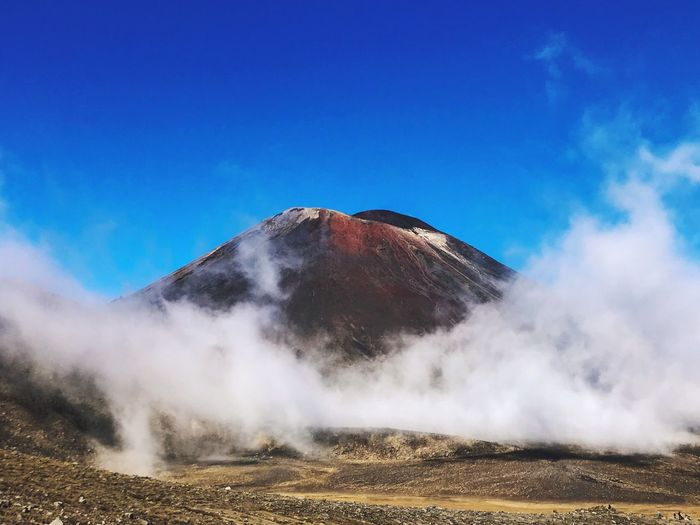 Mount Doom Beauty In Nature Geology Nature Power In Nature Physical Geography Blue Scenics - Nature Day Mountain No People Land Environment Outdoors