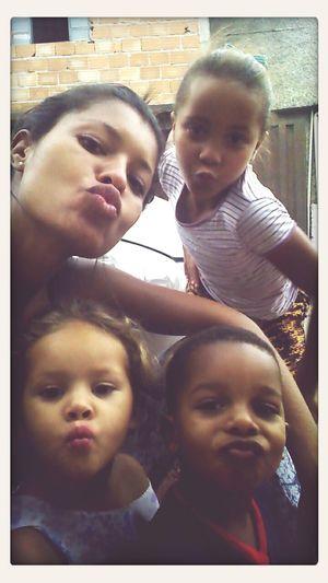 Curtindo a folga com os pequenos....sobrinhos mais lindos da tia Dani.... ❤❤??