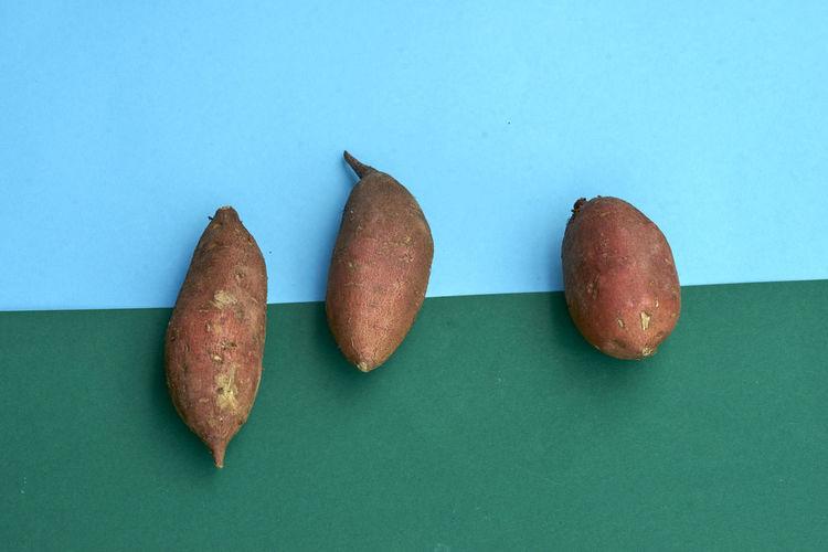 Sweet Potato Sweet Potatoes Sweet Potatoes With Shell Unshelled