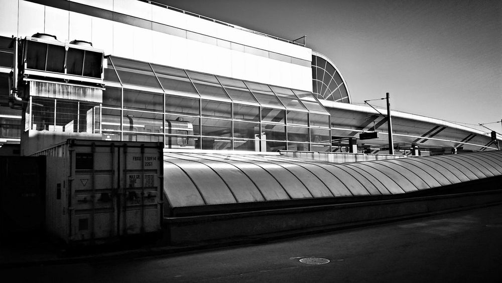 Centralstation Krakow Architecture Architecture_bw Monochrome Blackandwhite Notes From The Underground City Building Light And Shadow