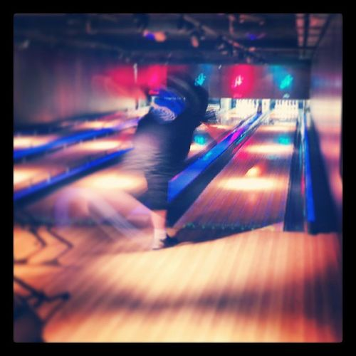 Me Bowling at @allstarlanes London Bayswater Sports sport active fun game games playing player score goal action throw pass win winning